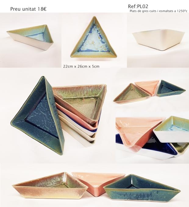 plats triangle grans